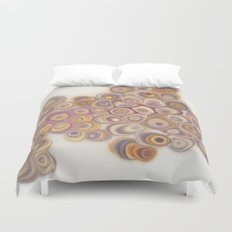 Spotted Geodes Duvet Cover