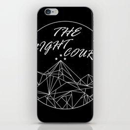 The Night Court iPhone Skin
