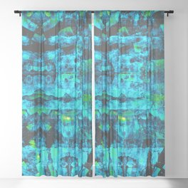 Bioluminescence Sheer Curtain