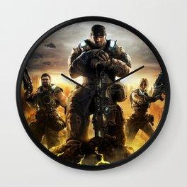 Gears Of War 04 Wall Clock