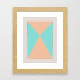 Mid Century Modern 4 Framed Art Print