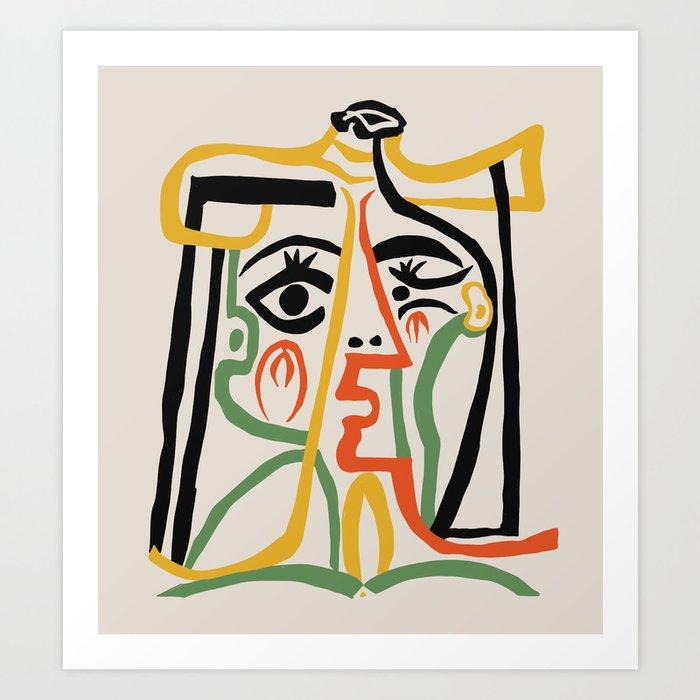Picasso - Woman's head #1 Kunstdrucke