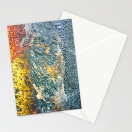 Colorful Abstract Texture Stationery Cards