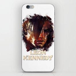 Leon Kennedy - RE iPhone Skin