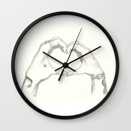 Love, Harry and Louis Wall Clock