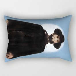 They'd Never Forget The Day He Drifted Into Town Rectangular Pillow