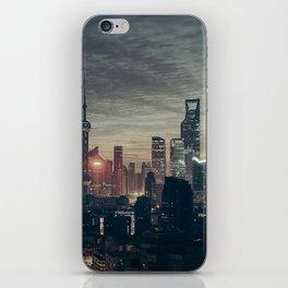 Shanghai Skyline iPhone Skin