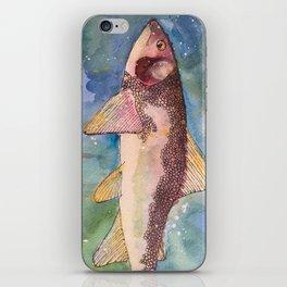 Mountain Whitefish (oddly not so white) iPhone Skin
