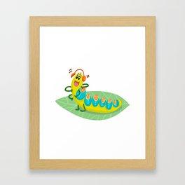 Poisonous Caterpillars Framed Art Print
