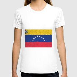 Extruded flag of Venezuela T-shirt