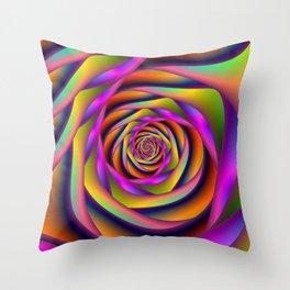 Spiral Six Throw Pillow