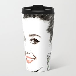 Vogue Fashion Illustration #15 Travel Mug