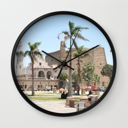 Temple of Luxor, no. 16 Wall Clock