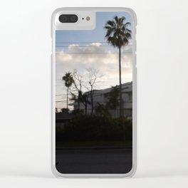 Jamaica sunset Clear iPhone Case