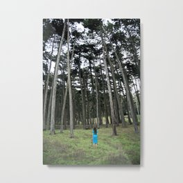 """Through the Woods"" Metal Print"