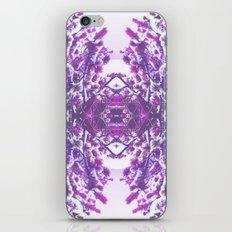 winter in purple iPhone & iPod Skin