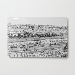Israel No. 1 Jerusalem Travel Photography Metal Print