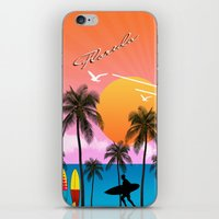 florida iPhone & iPod Skins featuring Florida  by mark ashkenazi
