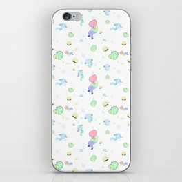 Cubic birthday iPhone Skin