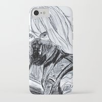 winter soldier iPhone & iPod Cases featuring Winter Soldier  by Pruoviare