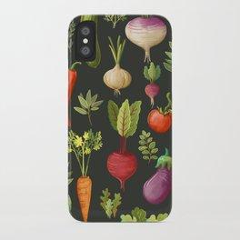 Garden Veggies iPhone Case