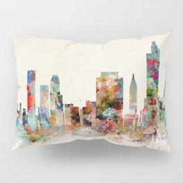 tulsa oklahoma skyline Pillow Sham
