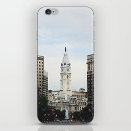 Philadelphia City Hall from the Parkway iPhone Skin