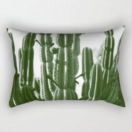 Vintage Cactus Print II Rectangular Pillow