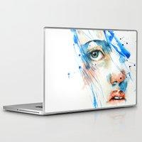 blues Laptop & iPad Skins featuring Blues by Jenny Viljaniemi