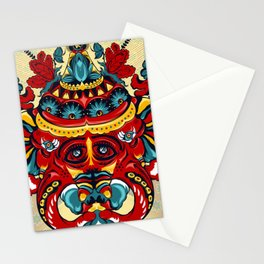 Elephant Flowers Stationery Cards
