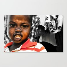 Grimace Re-edit Canvas Print