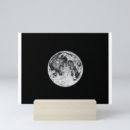 Full Moon Lunar Phase Mini Art Print
