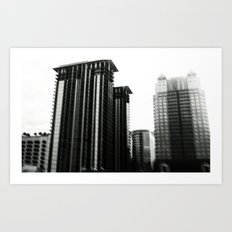 I Want To Take You Downtown Art Print
