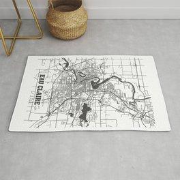 Eau Claire Road Map Rug