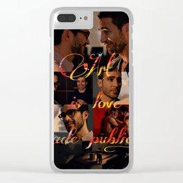 Art is love made public - Sense8 Clear iPhone Case