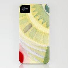 Holding iPhone (4, 4s) Slim Case
