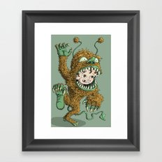Monster Inside Framed Art Print