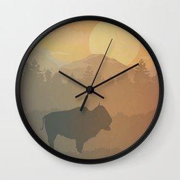 Last Buffalo Wall Clock