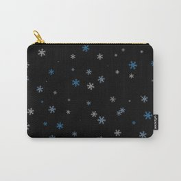 Snowy Blues | Veronica Nagorny Carry-All Pouch