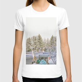 Shitters Full Poster Christmas Vacation, Che-vy Chase, National Lampoons, Vegas Vacation bathroom art T-shirt