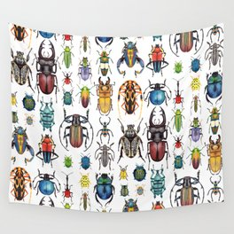 Beetle Collection Wall Tapestry