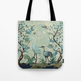 The Chinoiserie Panel Tote Bag