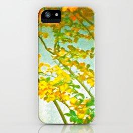 Autumn Fog iPhone Case