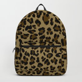 Leopard Print Pattern Backpack