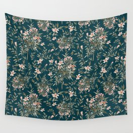 Small Floral Branch Wall Tapestry