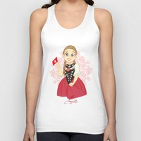 switzerland Tank Tops featuring Switzerland by Melissa Ballesteros Parada
