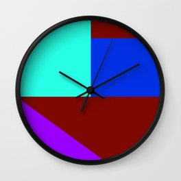 ComicCase_1 Wall Clock