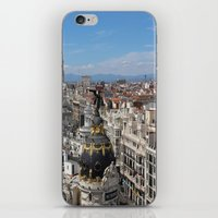 madrid iPhone & iPod Skins featuring Madrid Espana by Eduardo Doreni