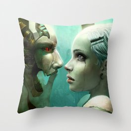 Impossible Lov3 Throw Pillow
