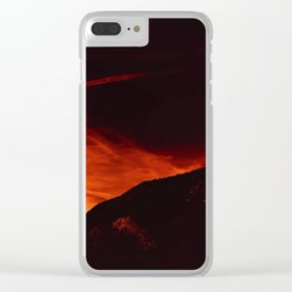 0117 Clear iPhone Case